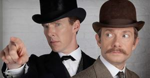 Sherlock! on PBS with Benedict Cumberbatch & Martin Freeman...So, so Good.