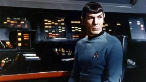 SPOCK ON ENTERPRISE