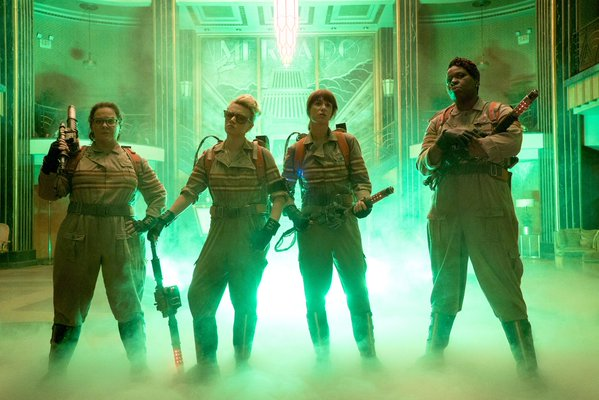 LADY GHOSTBUSTERS
