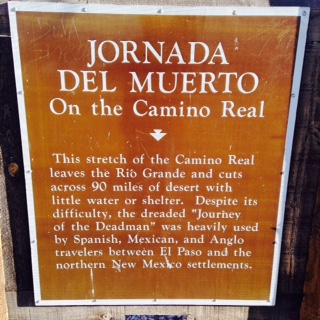 CAMINO REAL IN NEW MEXICO