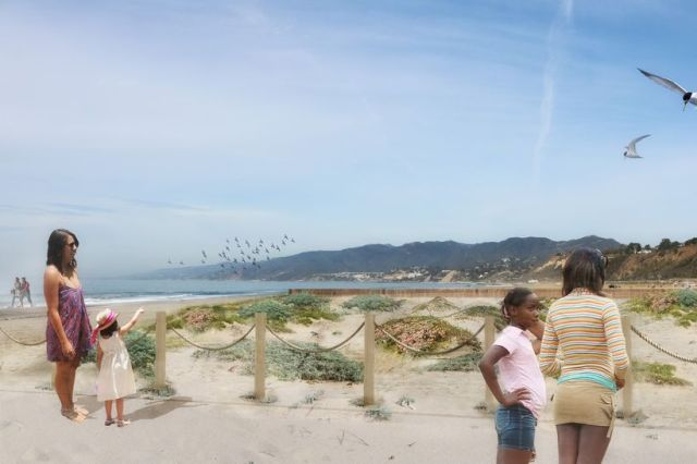 BEACH RESTORATION RENDERING