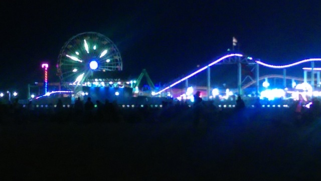 SAMO PIER AT NIGHT