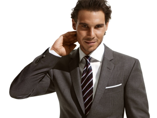 NADAL HILFIGER SUIT AND TIE