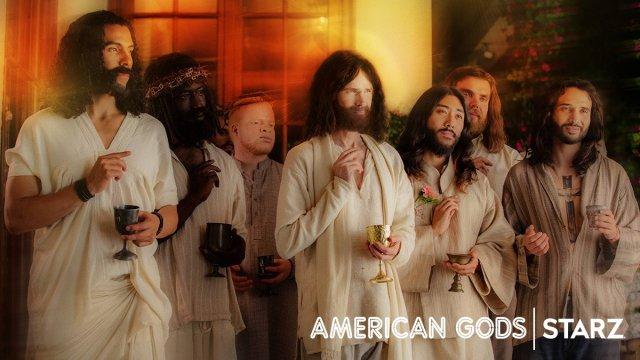 AMERICAN GODS THE JESUSES