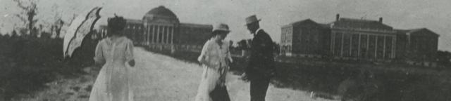 1917 PHOTO OF DALLAS HALL
