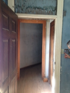 ATTIC DOORWAY