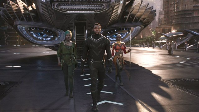 BLACK PANTHER AND HIS LADIES