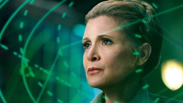 CARRIE AS GENERAL LEIA