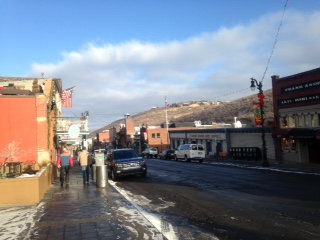 MAIN STREET PARK CITY NO SNOW