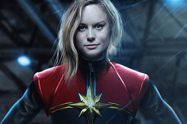 BRIE AS CAPTAIN MARVEL