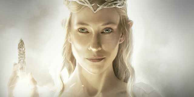 CATE AS GALADRIEL LOTR
