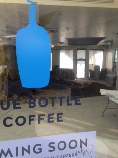 COFFEE SHOP BLUE BOTTLE